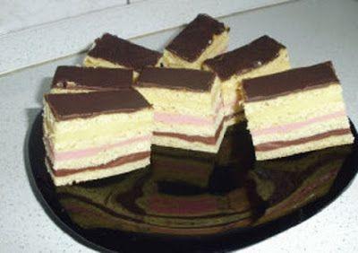 Receptek, és hasznos cikkek oldala: Egyszerű sütemény színesen