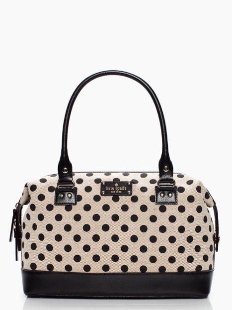 Kate spade polka dot purse trend stylish purses 19 best handbags images on pinterest hand bags backpacks and bag kate spade rachelle wellesley polka dot junglespirit Gallery