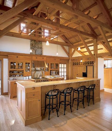 17 best images about kitchen on pinterest kitchen desks for Barn style kitchen cabinets