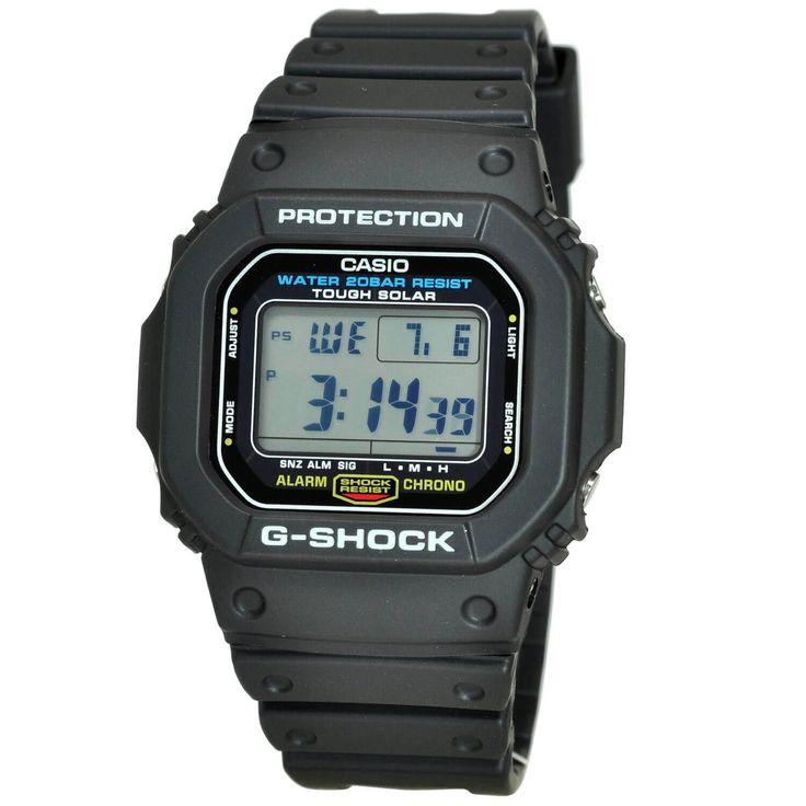 Casio Men's G5600E-1D G-Shock Watch