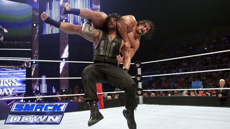 WWE SMACKDOWN January 2 2015 - WWE SMACKDOWN 1/2/15 Roman Rollins vs Rusev - FUL...