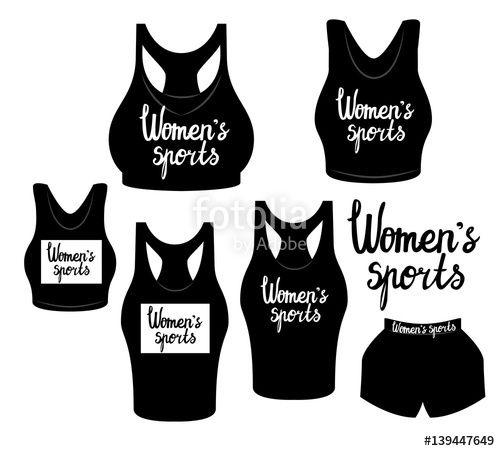 Вектор: Women's sports