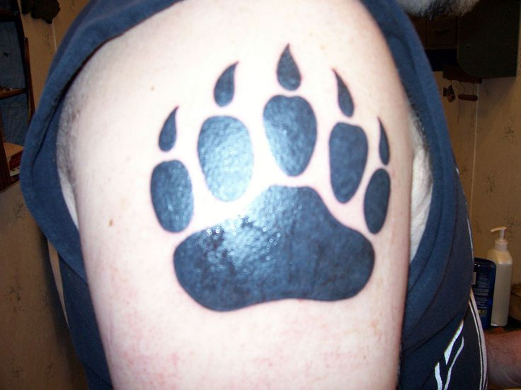 Grizzly Bear Paw Tattoo grizzly bear tattoos designs cool tattoos ...
