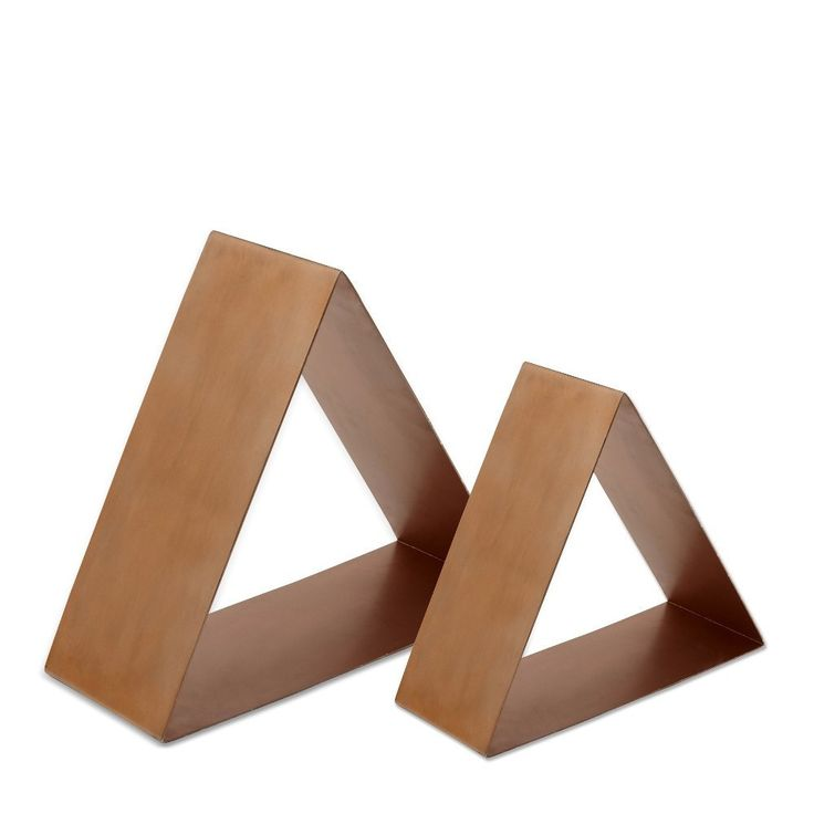 Me & My Trend - Triangle Copper Shelves