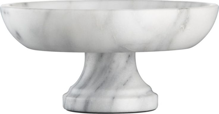French Kitchen Marble Fruit Bowl... So pretty for kitchen or bath!