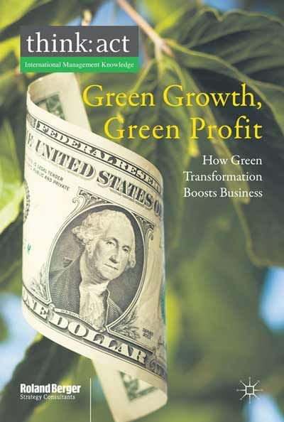 Green business is here. It is a multi billion business with enormous growth potential, driven by megatrends such as demographic change, climate change and urbanization. It is driving the transformation of existing businesses and changing the way customers and suppliers act, forcing them to rethink their business strategy. EBOOK