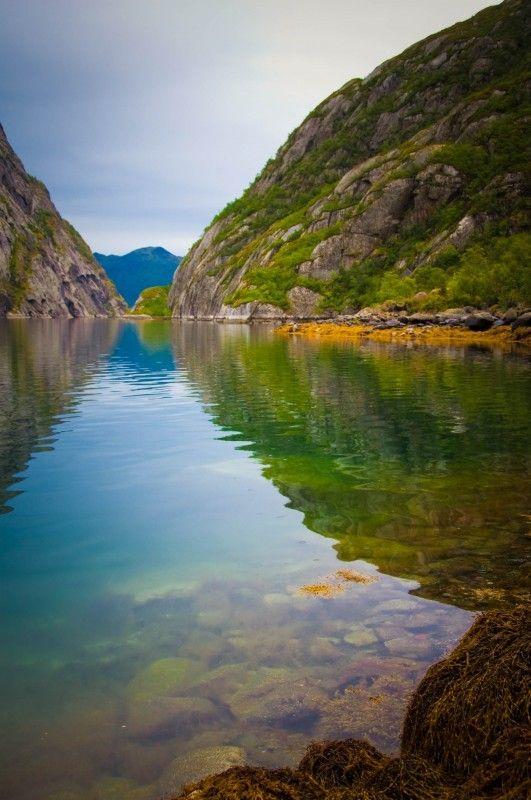 Trollfjorden, Noorwegen