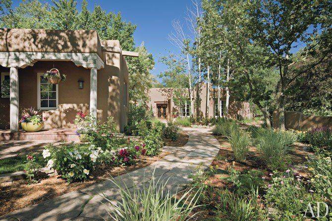 Upper West Side, Santa Fe: Rose, New Home, Dreams Houses, Archdigest Designfil, Adobe, Santa Fe, Architecture Digest, Fe Style, New Mexico
