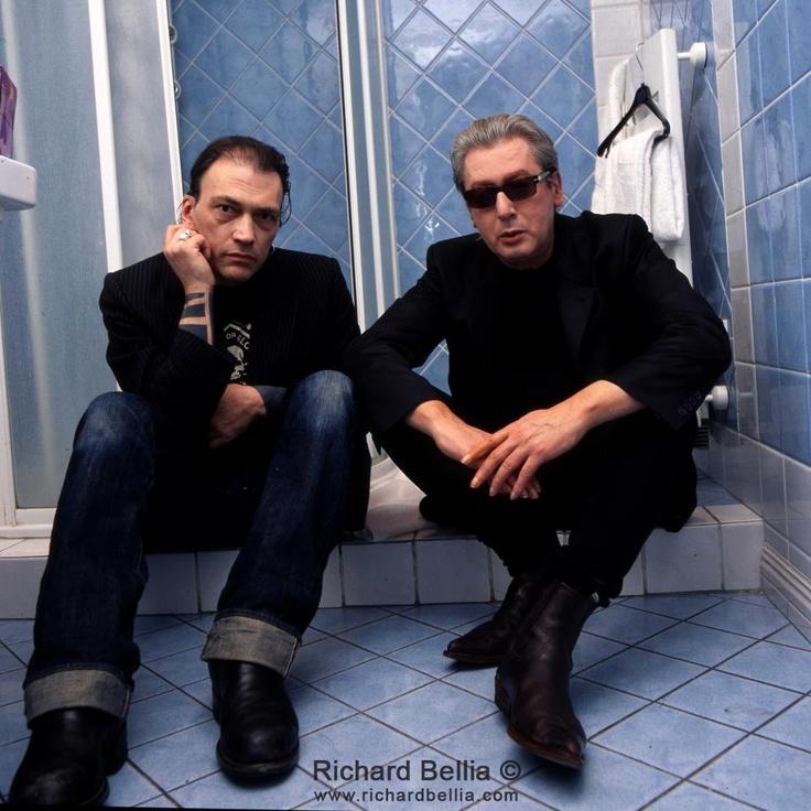 Daniel Darc et Alain Bashung