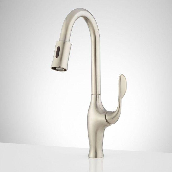 Akram Single Hole Touchless Kitchen Faucet Touchless Kitchen