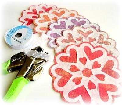 Valentine Snowflake Garland!