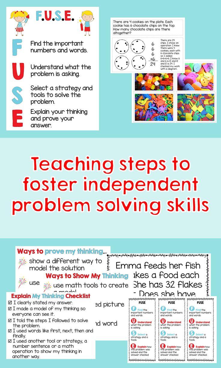 42 best Math- Problem Solving images on Pinterest | School, Math ...