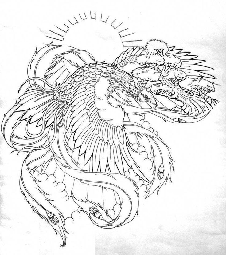 Japanese Tattoos Phoenix Ink In 2020 Japanese Tattoo Traditional Japanese Tattoos Phoenix Tattoo