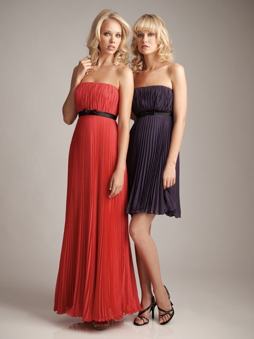 Charming sleeveless A-line bridesmaid dress $184.00: Wedding Dresses, Bridesmaid Dresses, Wedding Ideas, Allure Bridesmaid, Bridesmaiddress, Prom Dress, Chiffon, Strapless