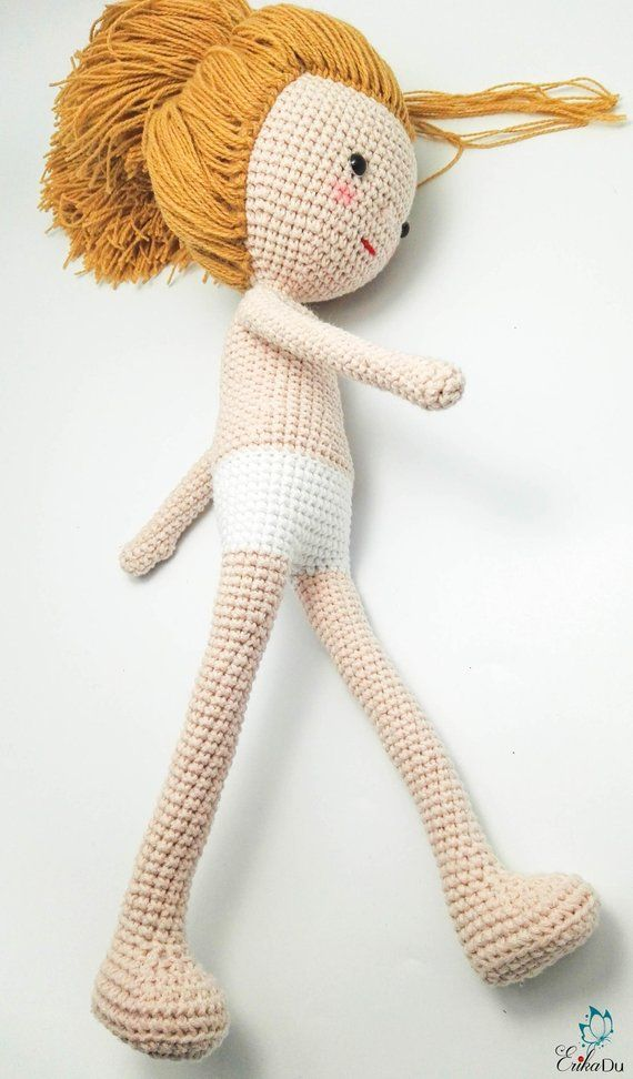Supermodel Doll Base | Doll shape, Crochet, Crochet dolls free ... | 972x570