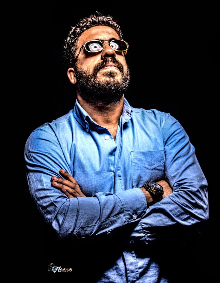 Me Portrait by Mahmoud Veron on 500px