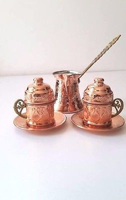 Turkish Coffee Serving Set-Coffee Porcelain Cup&Saucer,Coffee Maker Pot