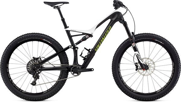 "Specialized Stumpjumper FSR Expert Carbon 6Fattie 27.5"" Mountain Bike 2017 - Fat…"