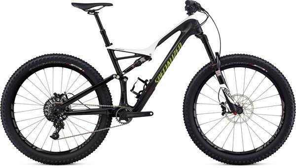 "Specialized Stumpjumper FSR Expert Carbon 6Fattie 27.5"" Mountain Bike 2017 - Fat…"