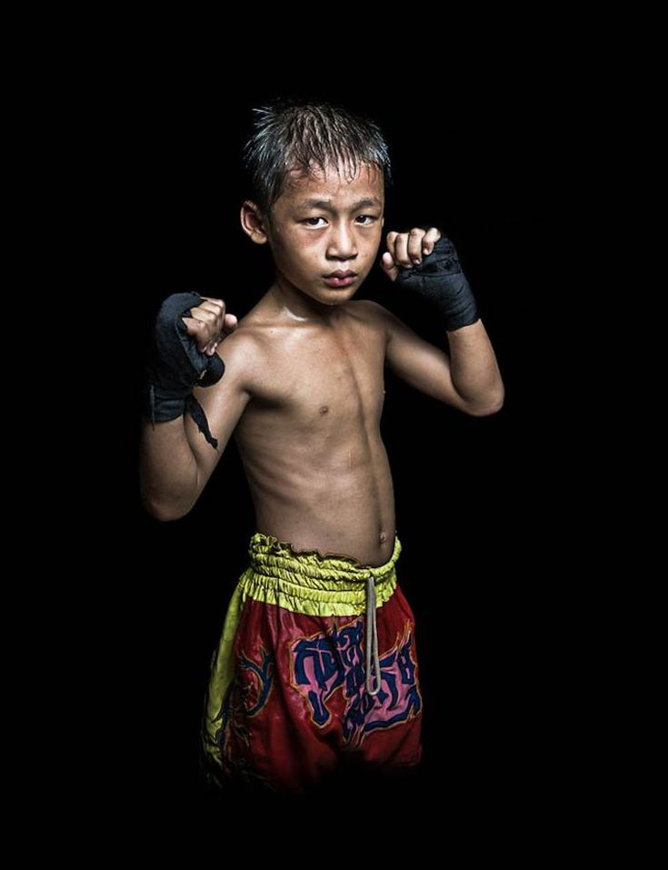 A stunning series of portraits of Khmerian Boxers, created by French photographer Antoine Raab, who captured these Cambodian fighters just out of the ring