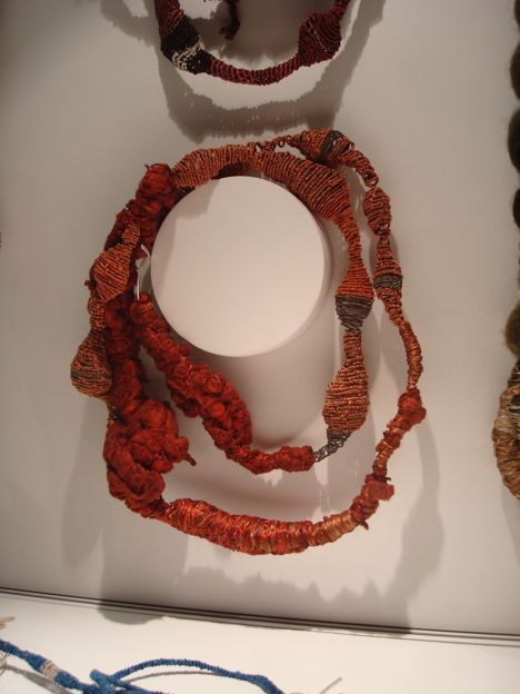 Another necklace by Gabriela Horvat.