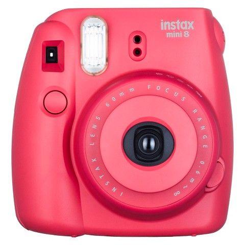 Fujifilm Instax Mini 8 Instant Film Camera - Raspberry Jam (16443917)