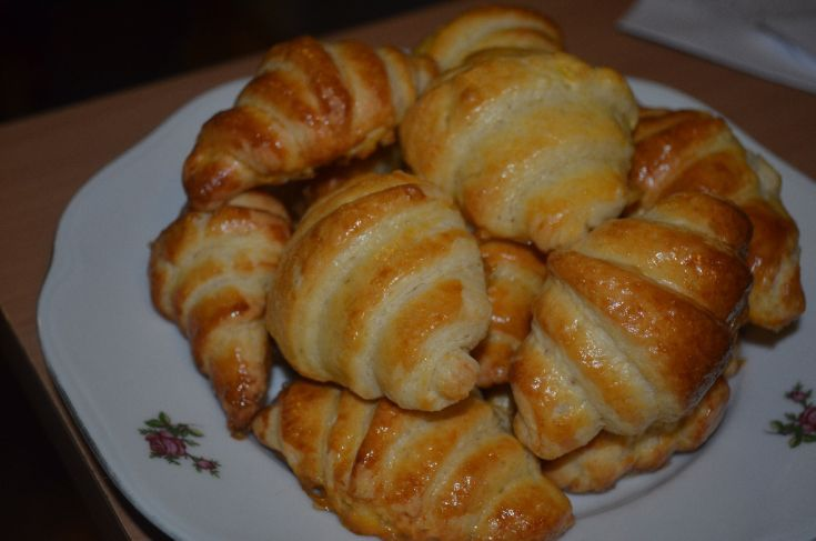 Fotorecept: Domáce croissanty