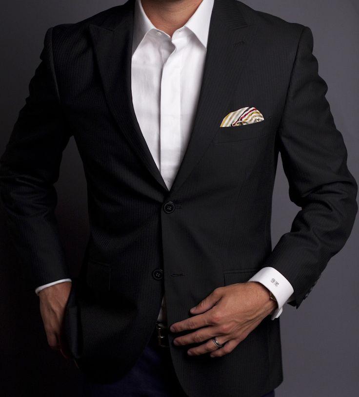 Suit+napkin super style