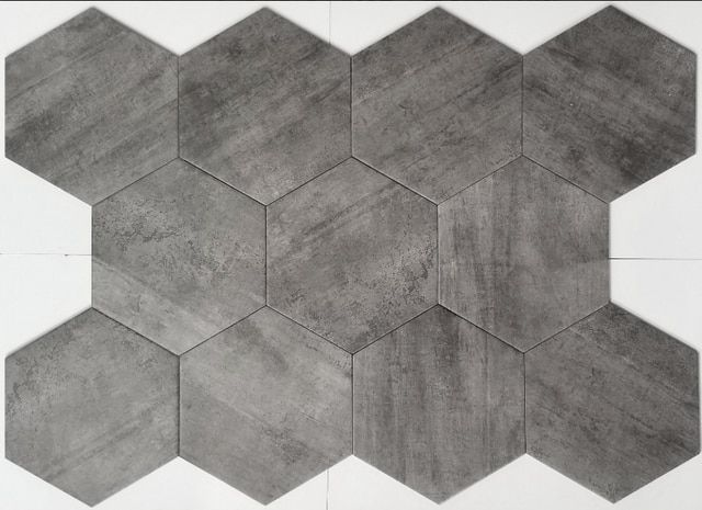 Queen Stone Silver Hexagon Tiles 10x10 In 2020 Tiles Tile Stores Flooring Store