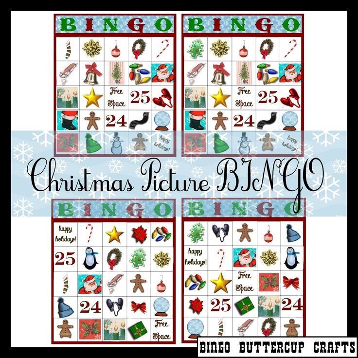 Sunday School Christmas Party Games: Free Download For Christmas Bingo, Awesome For Teachers Or