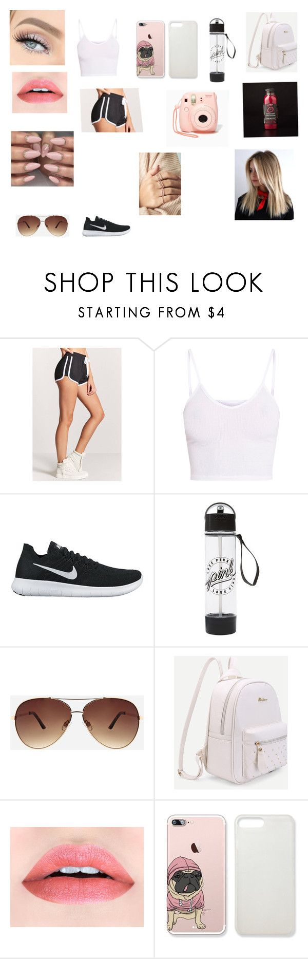 """""""Untitled #322"""" by maddison-baron on Polyvore featuring Forever 21, BasicGrey, NIKE, GET LOST, Ashley Stewart and Nasty Gal"""