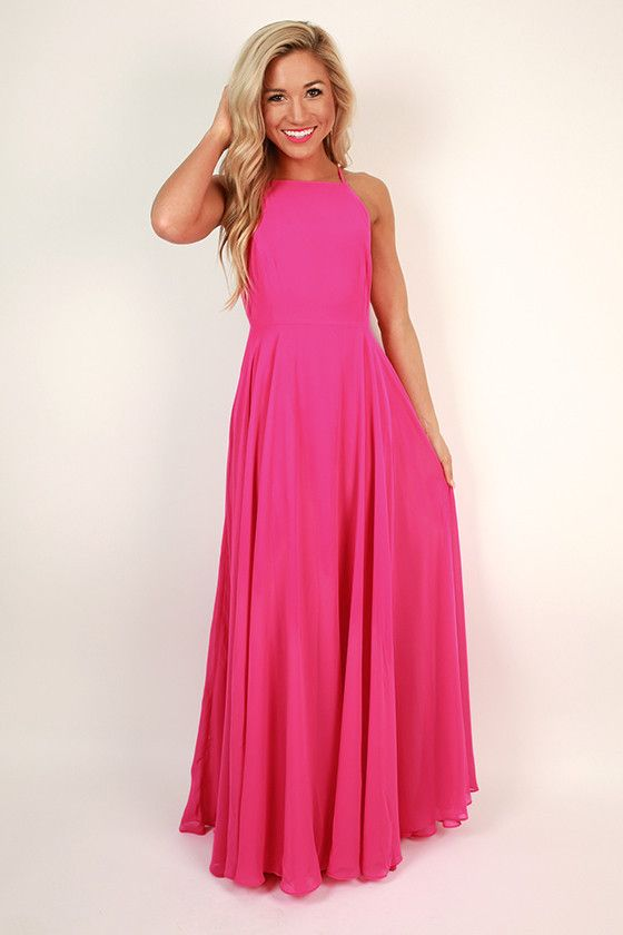 yes style maxi dress by magic