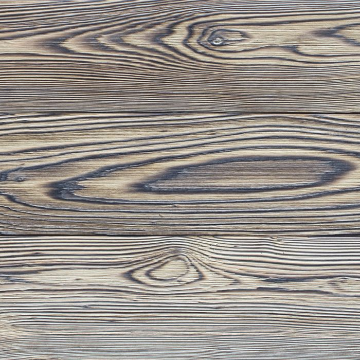 SORA from the CHARRED collection by reSAWN TIMBER co. features cypress burnt in the Japanese style of shou sugi ban.