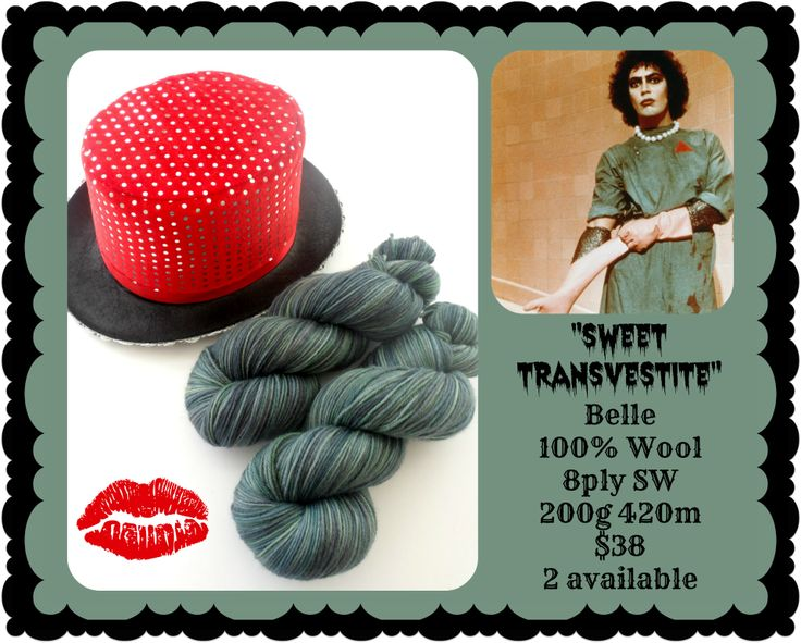 Sweet Transvestite - Rocky Horror Picture Show | Red Riding Hood Yarn