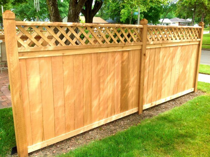 with pickets fence one are post in and to s attached winsted panels mounting sectional lots lumber wood fencing sections of picket hardware