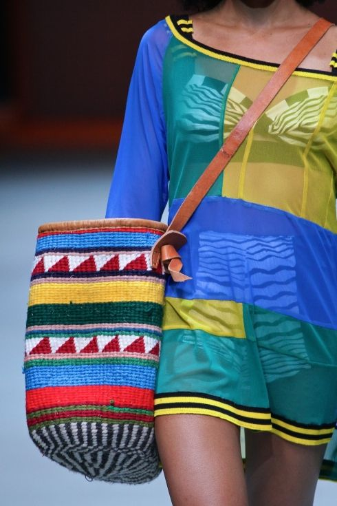 Marianne Fassler Spring Summer collection 2015 shown at the Mercedes-Benz Fashion Week Cape Town.