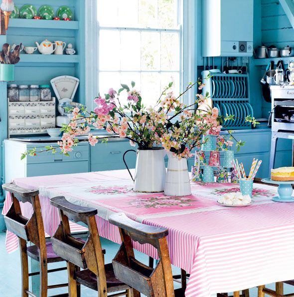 Pretty Pastel Style by Selina Lake This would have to be my favourite kitchen style