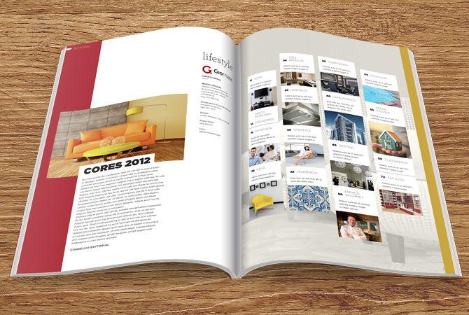 Lifestyle. Magazine. Karla Nazareth. Editorial design.