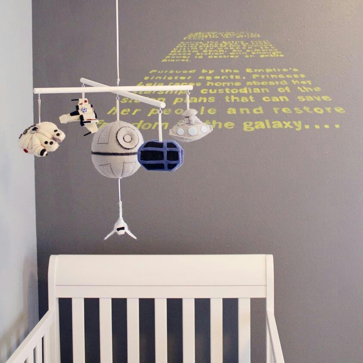 Star Wars Baby Crib Mobile Cute Pinterest Far Away Children And Baby Cribs