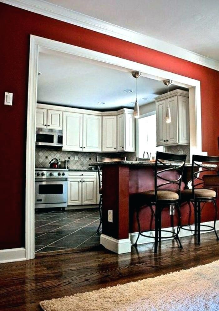 Knock Down Wall In Kitchen Half Wall Between Kitchen And Dining Room Comment Adopter Bar Kitchen Wall Knock Down W Half Wall Kitchen Home Remodeling Home Decor