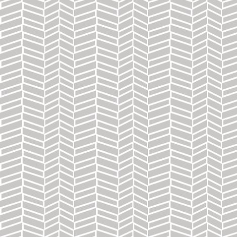 Assymetrical Herringbone / Warm Gray fabric by mjdesigns on Spoonflower - custom fabric