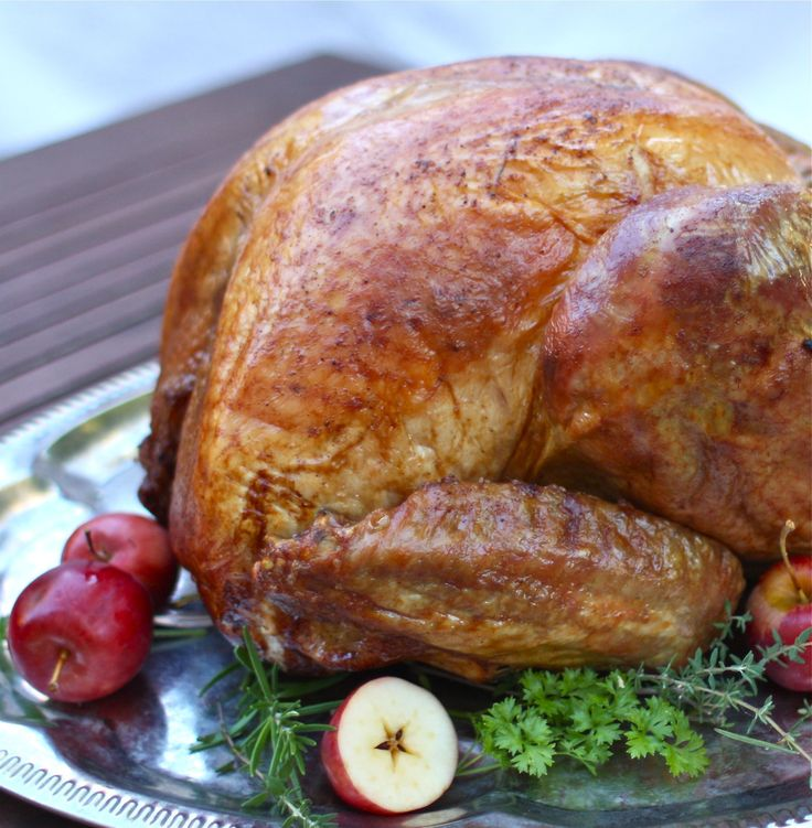 This is how I cooked my turkey last year and probably how I will do it from now on.  It was delicious!