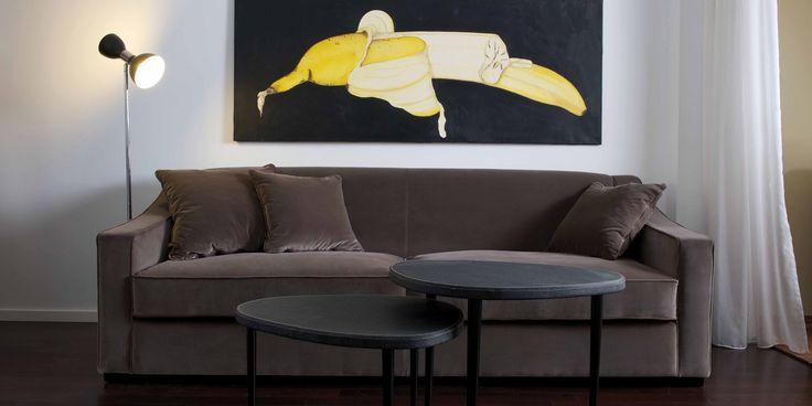 DOM EDIZIONI Luxury Furniture Carlo Sofa, Mars & Moon small table #domedizioni #carlosofa #mars #moon