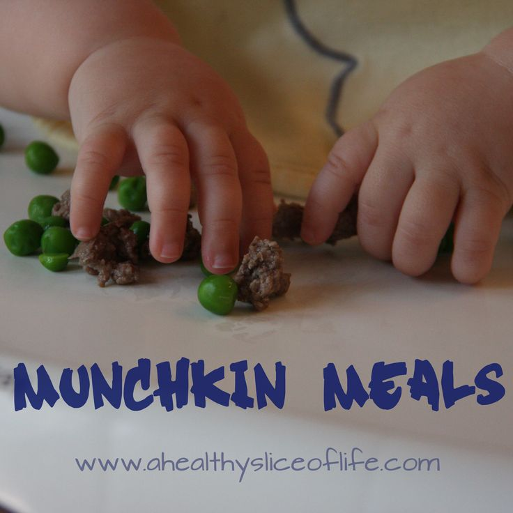 munchkin meals-- lots of ideas for Toddler food