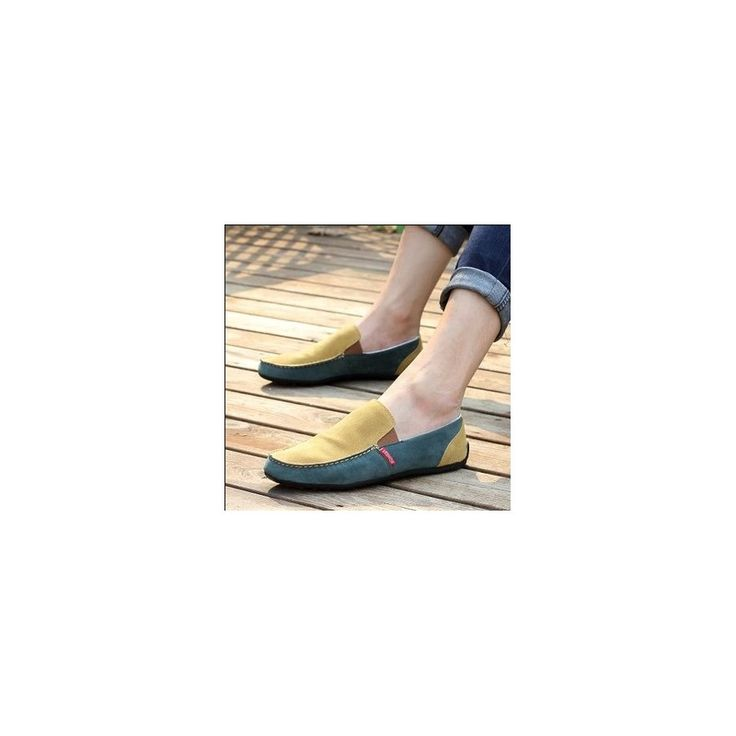 New Men's Flats Summer breathable casual shoes fashion lazy shoes for men