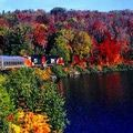 10 of the Best Places to See Fall Foliage in Canada: Agawa Canyon Trip, Ontario