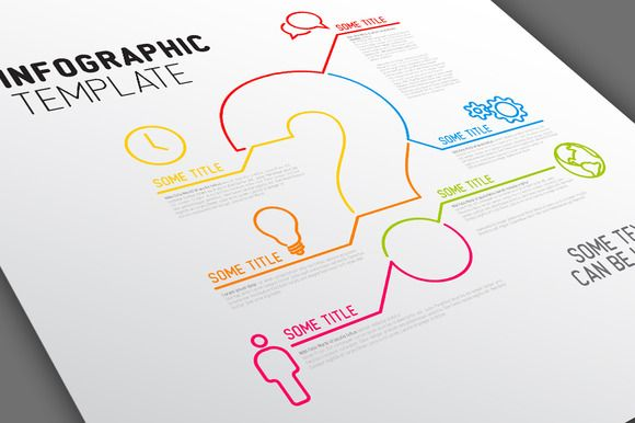 Infographic Template - Question Mark by Orson on Creative Market