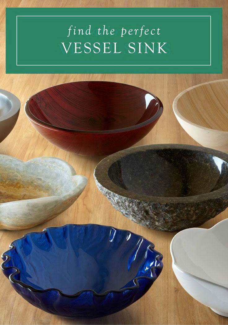 Looking for a quick DIY or weekend project to instantly update your space? Adding a one-of-a-kind stone vessel sink or colorful glass vessel sink from Signature Hardware to your bathroom is a simple way to give your space an entirely new style.