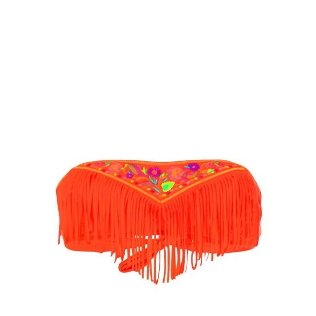 Haut de maillot de bain Bandeau Bodega Noho Orange BANANA MOON