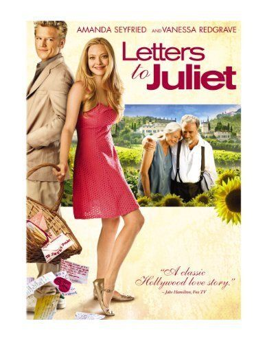 Letters to Juliet. This movie was cute, a little cheesy, but adorable.